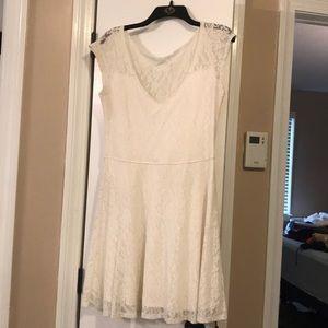 White Hollister Dress